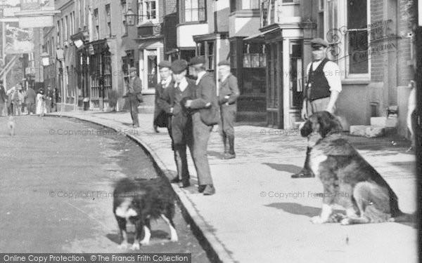 Photo of Witham, Street Scene 1900