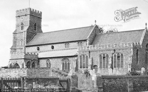 Photo of Witham, The 14th Century Church c.1955
