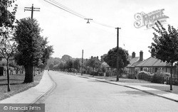 Witham, The Avenue c.1950