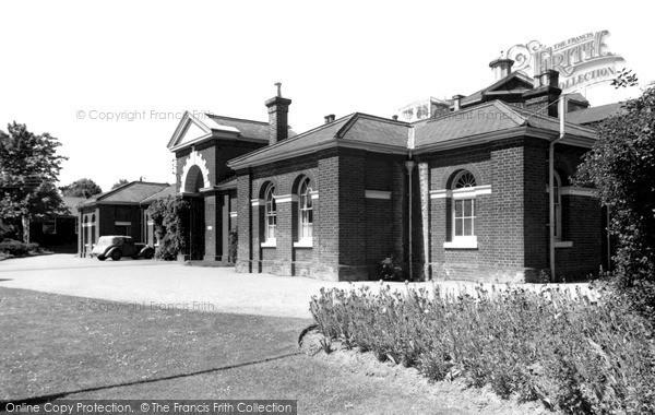 Photo of Witham, The Bridge Home c.1955