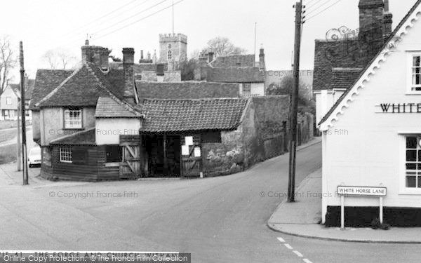 Photo of Witham, The Forge And Church c.1965