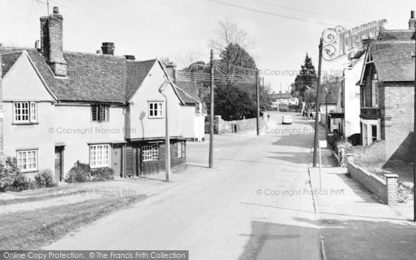 Photo of Witham, The Forge c.1960
