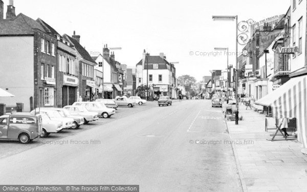 Photo of Witham, The High Street c.1965
