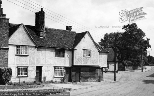 Photo of Witham, The Old Forge, Chipping Hill c.1950
