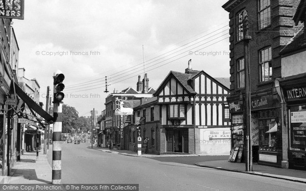 Photo of Witham, The White Hart And Newland Street c.1955