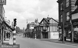 Witham, The White Hart And Newland Street c.1955