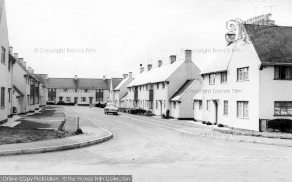 Photo of Witheridge, Butts Close c.1960