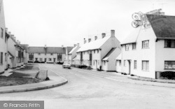 Butts Close c.1960, Witheridge