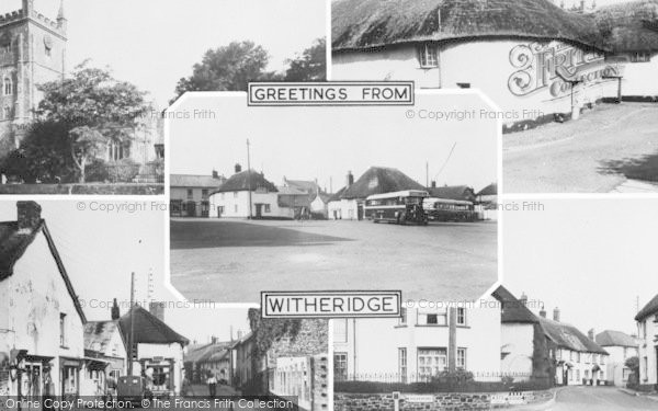 Photo of Witheridge, Composite c.1955