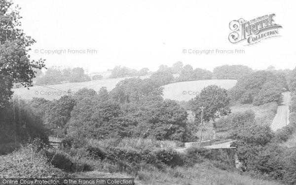Photo of Witheridge, Dart Bridge c.1955