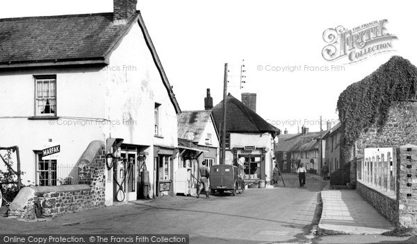 Photo of Witheridge, Fore Street c.1955