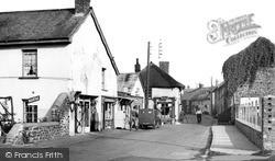 Fore Street c.1955, Witheridge