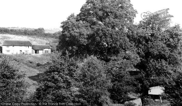 Photo of Witheridge, Mill Valley c.1955