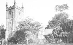 St John The Baptist Church c.1955, Witheridge