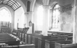 The Church Interior c.1955, Witheridge
