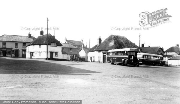 Photo of Witheridge, The Square c.1950