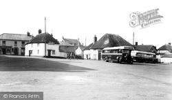 The Square c.1950, Witheridge