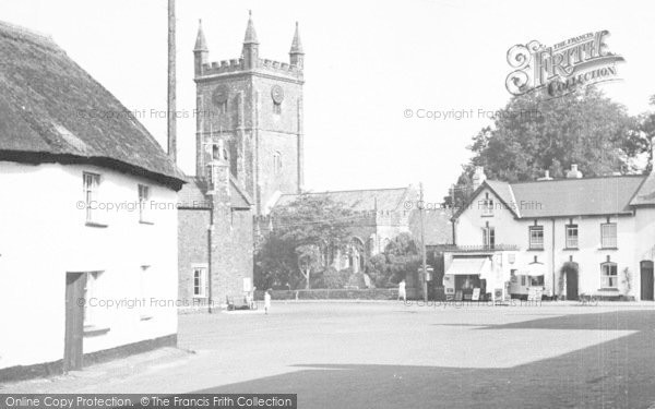 Photo of Witheridge, The Square c.1955