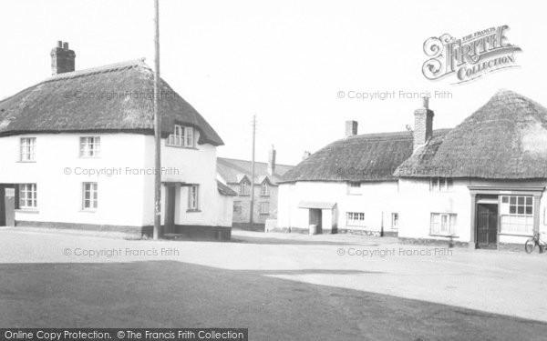 Photo of Witheridge, The Square c.1955