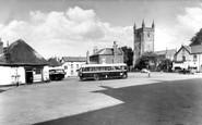 Witheridge, the Square c1960