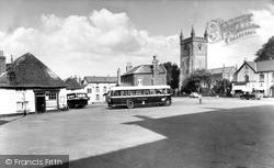 The Square c.1960, Witheridge