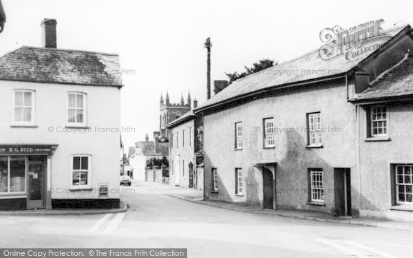 Photo of Witheridge, The Village c.1965