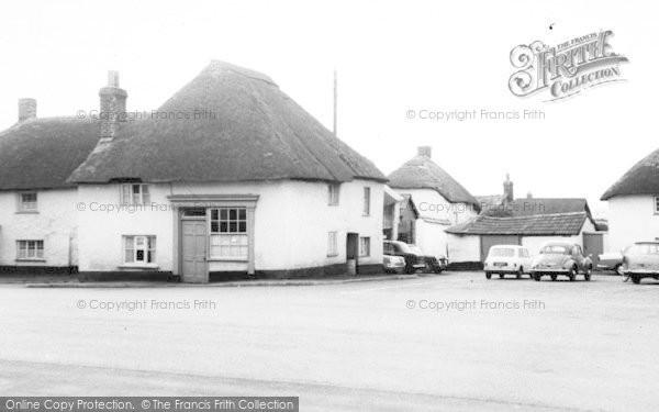 Photo of Witheridge, The Village c.1965