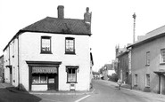 Witheridge, Trafalgar Square c1950