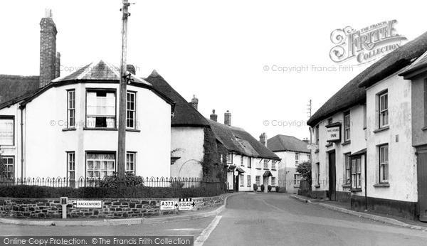 Witheridge, Trafalgar Square c1960