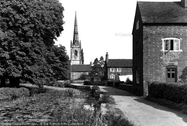 Photo of Witherley, St Peter's Church c.1960