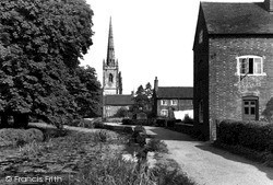 Witherley, St Peter's Church c.1960