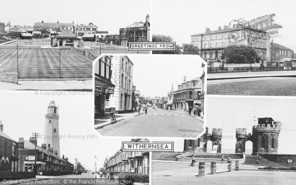 Photo of Withernsea, Composite c.1955