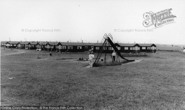 Photo of Withernsea, Golden Sands Chalet Park c.1965