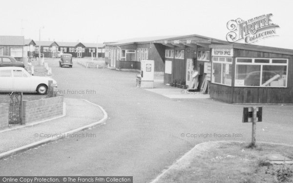 Photo of Withernsea, Golden Sands Chalet Park Reception c.1965