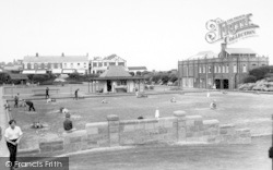 Withernsea, Miniature Golf And Bowling Green c.1960