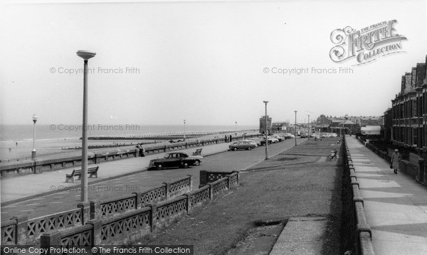 Photo of Withernsea, North Promenade c.1965