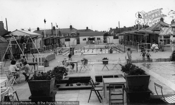 Photo of Withernsea, Paddling Pool c.1965