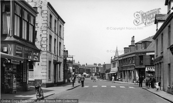 Photo of Withernsea, Queen Street c.1955
