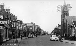 Withernsea, Queen Street c.1960