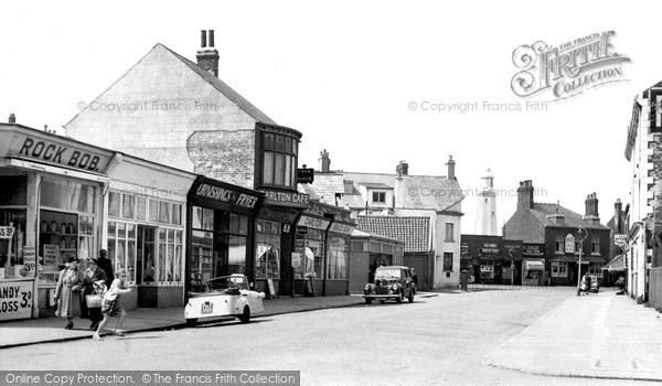 Photo of Withernsea, Seaside Road c.1955
