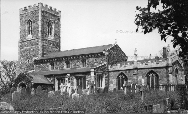 Photo of Withernsea, St Nicholas Church c.1955