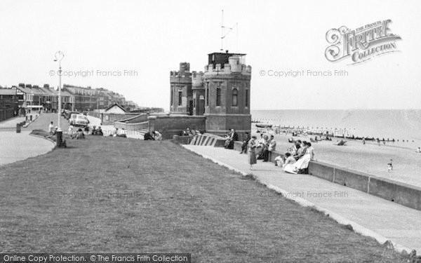 Photo of Withernsea, The Beach And Tower c.1960