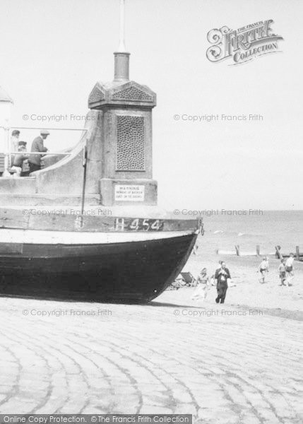Photo of Withernsea, The Beach c.1955