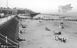 Withernsea, The Beach c.1960