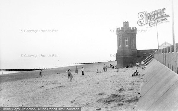 Photo of Withernsea, The Beach c.1960