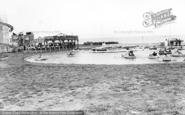 Photo of Withernsea, The Boating Pool c.1960