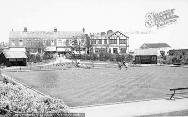 Photo of Withernsea, The Bowling Green c.1955
