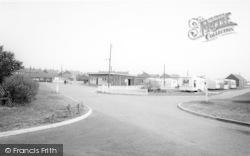 Withernsea, The Caravan Park c.1965