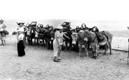 Withernsea, the Donkeys c1955