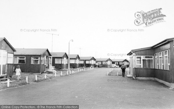 Photo of Withernsea, The Golden Sands Chalet Park c.1965
